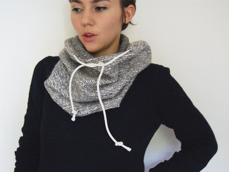 DIY SNOOD 19